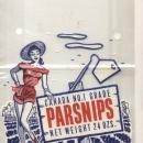 Parsnips Garden Bag - Sexy Lady