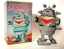 Wind-Up Robot Toy 1970s
