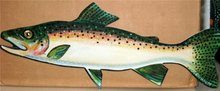 Rainbow Trout Greeting Cards 1960s