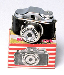 Midget Camera Toy in box japan
