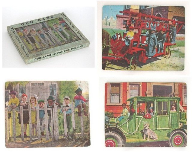 Our Gang Little Rascals Puzzle Toy