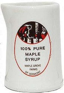 Maple Grove Farms China Syrup Creamer