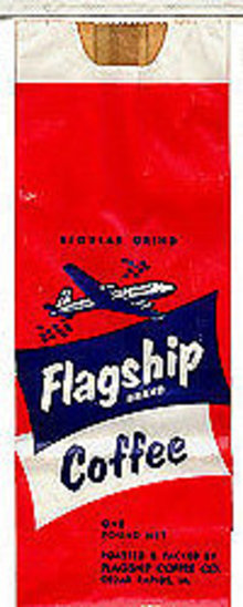 Flagship Coffee Bag 1940s