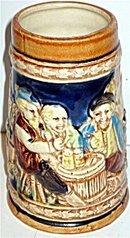 Japan Beer Mug Stein Unlidded