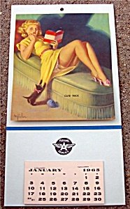 Flying A Gas pinup Calendar