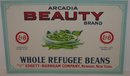 Refugee Green Beans Farm sign