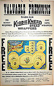 Kiddie Knead Bread Sign