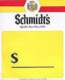 Schmidt's Beer Sign