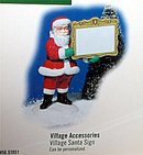 New  Village Accessories SANTA CLAUS figure