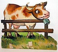 Mechanical Cow Card