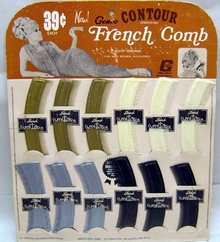 French Comb Counter Display