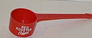 Red Rooster Coffee Measure Scooper