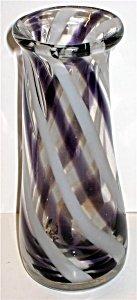 Retro Swirl Vase