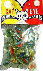 Champion Cat Eye Marble Bag