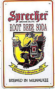Sprecher Root Beer Sign - Black Crow