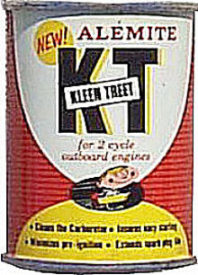 Alemite Boat Engine Oil Can Full