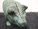 Cast Iron Pig Statue ~ estate