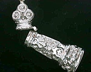 Repro Sterling Silver Sewing Needlecase