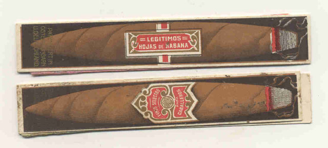 Habana Cigar packages 1910