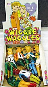 Wiggle Waggles toy store Display