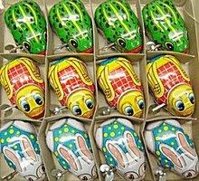 Wind-Up Metal Litho Toys  Display