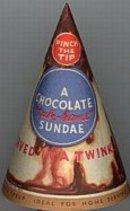 Tak-Home Sundae Ice Cream Cone Cups