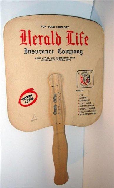 Herald Life Insurance Fan