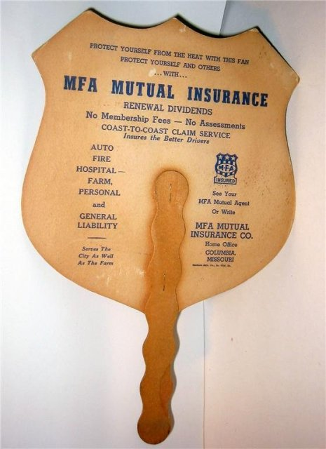 MFA Mutual Insurance Ad Fan