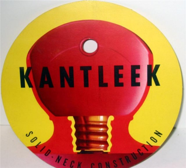 Kantleek Enema Rubber Sign