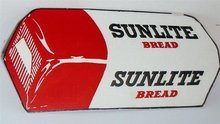 Sunlite Bread Diecut Blotter Sign