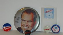 Richard Nixon Political Lot Pins