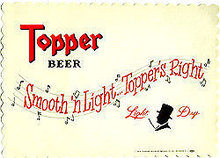 Topper Beer Placemats