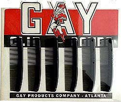 Gay Comb Hair Store Display FULL 1940s