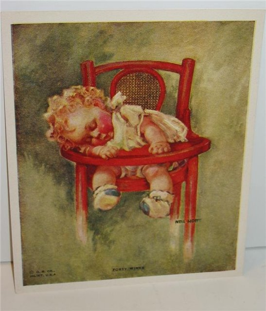 Nell Hot Art Print - Sleeping Baby
