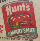 Hunts Tomato Sauce Matchbook