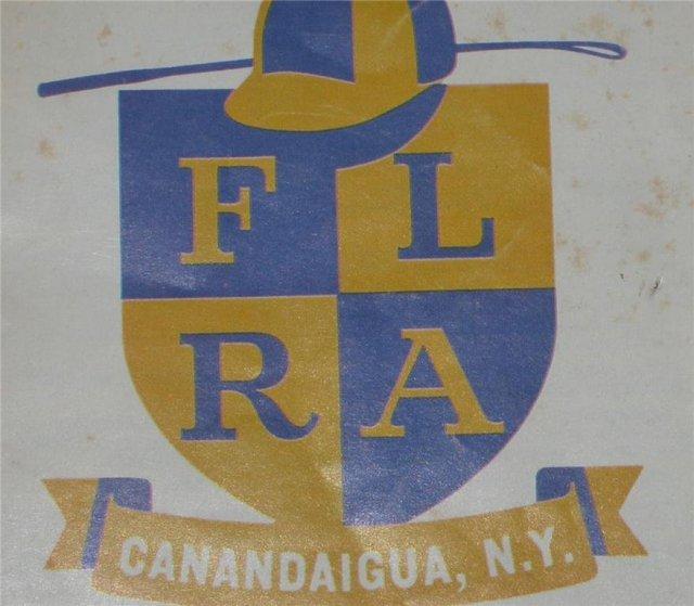 Finger Lakes Racing Program 1964