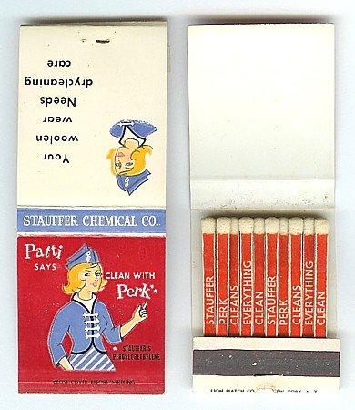 Patti Perk Matchbook