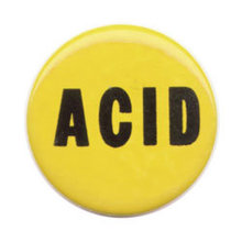 Acid Pinback Pin Button