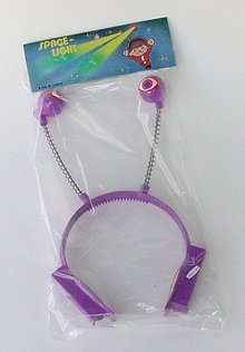 Space Light Antenna Headband Toys
