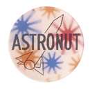 Astronaut Space 3-D Flasher Hippie Disc Toys