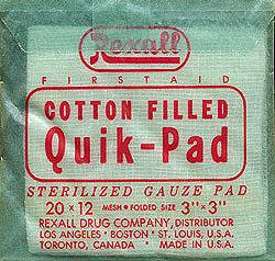 Rexall Cotton Pads RX Medicine