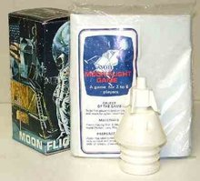 Avon Flight to Moon Shampoo Bottle in box