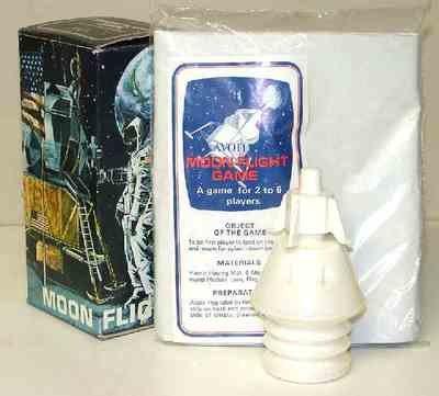 Avon Flight to Moon Shampoo Bottle in box
