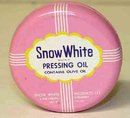 Snow White Cosmetic Pressing Oil Tin Full
