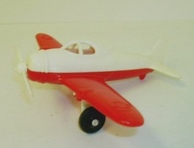Hubley Toy Plastic Airplane