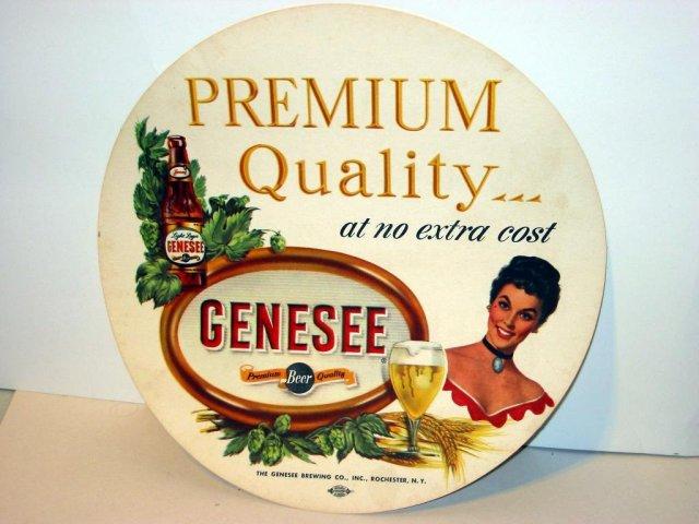 Genesee Beer Liner sexy girl