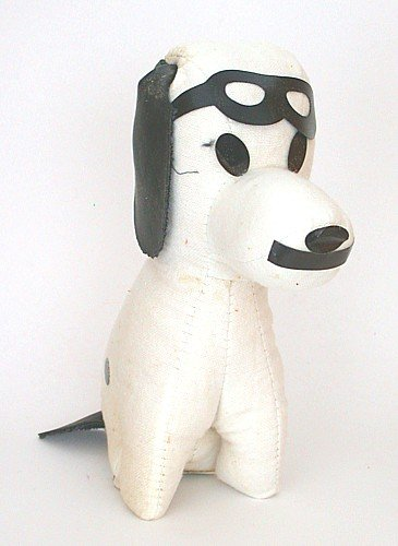 Snoopy Red Baron Stuffed Dog Toy