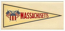 Massachusetts Water Dip Decal Sign