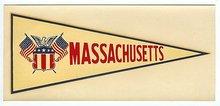 Massachusetts Water Dip Decal Sign