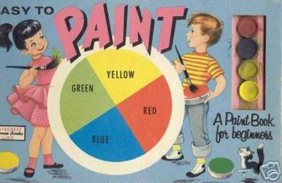 Easy to Paint Book ~ 1950s toy